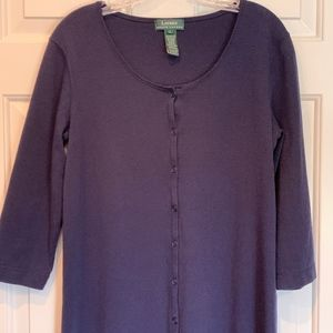 Ralph Lauren Heavyweight Knit Maxi Dress, Size L